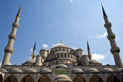 Moschea blu Fotografie Stock
