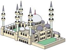 Moschea blu Royalty Illustrazione gratis