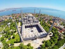 Moschea blu al quadrato di Sultanahmet Fotografie Stock