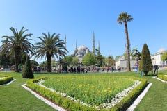 Moschea blu, Costantinopoli Immagine Stock Libera da Diritti
