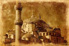 Moschea blu a Costantinopoli Fotografie Stock