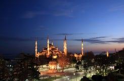 Moschea blu, Costantinopoli Fotografia Stock