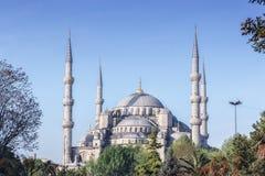 Moschea blu a Costantinopoli Immagine Stock