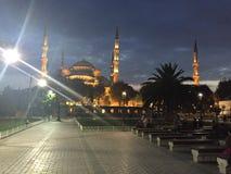 Moschea blu a Costantinopoli Fotografia Stock