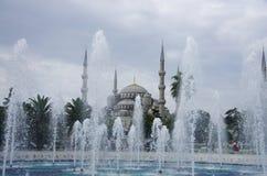 Moschea blu a Costantinopoli immagine stock libera da diritti