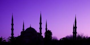 Moschea blu a Costantinopoli, Turchia Fotografia Stock