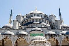 Moschea blu a Costantinopoli Turchia immagine stock