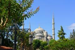 Moschea blu a Costantinopoli, Turchia Fotografia Stock Libera da Diritti