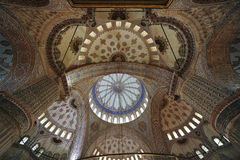 Moschea blu o moschea di Sultanahmet Fotografia Stock Libera da Diritti