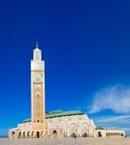 Moschea Casablanca del Hassan II Immagine Stock Libera da Diritti
