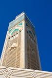Moschea Casablanca del Hassan II Immagini Stock Libere da Diritti