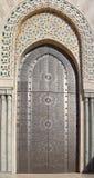 Moschea Casablanca del Hassan II Fotografie Stock Libere da Diritti