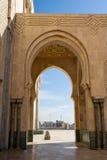 Moschea Casablanca del Hassan II Immagini Stock