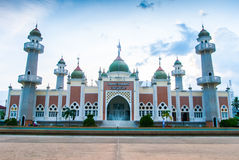 Moschea centrale di Pattani, Tailandia fotografia stock libera da diritti