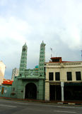 Moschea, Chinatown di Singapore Fotografie Stock Libere da Diritti