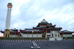 Moschea cinese Fotografia Stock