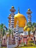 Moschea in città reale Fotografia Stock