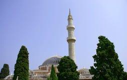 Moschea con la torretta Immagine Stock