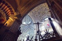 Moschea Cordova fotografia stock libera da diritti