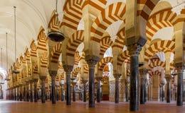 Moschea a Cordova, Spagna Fotografie Stock Libere da Diritti