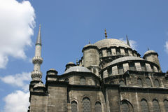 Moschea a Costantinopoli Fotografie Stock Libere da Diritti
