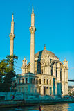 Moschea Costantinopoli di Ortakoy Fotografia Stock
