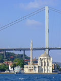 Moschea Costantinopoli di Ortakoy Fotografie Stock Libere da Diritti