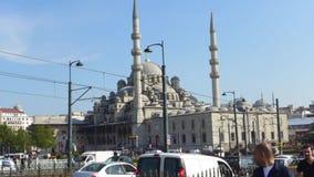 Moschea Costantinopoli di Pasa del gambo del ¼ di RÃ video d archivio