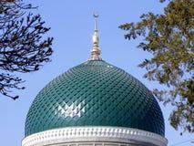 Moschea dei musulmani della cupola Fotografia Stock