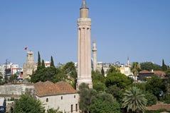 Moschea del minareto di Yivli Fotografia Stock Libera da Diritti