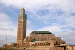 Moschea del re Hussan II immagini stock libere da diritti
