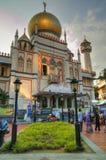 Moschea del sultano, Singapore Fotografie Stock Libere da Diritti