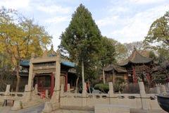 Moschea del vicolo del huajue di Xian grande, adobe rgb Immagini Stock Libere da Diritti