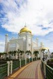 Moschea dell'Omar Ali Saifuddien del sultano, Brunei Fotografie Stock