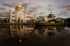 Moschea dell'Omar Ali Saifuddin Fotografia Stock