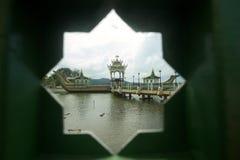 Moschea dell'Omar Ali Saifuddin del sultano Fotografie Stock Libere da Diritti
