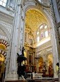 Moschea della cattedrale, Moschea de Cordova L'Andalusia, Spagna Immagini Stock