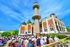Moschea della centrale di Pattani Fotografia Stock Libera da Diritti