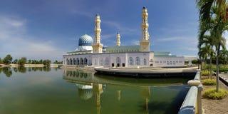 Moschea della città di Kota-kinabalu Immagine Stock Libera da Diritti