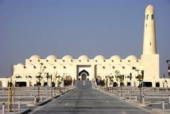 Moschea della condizione del Qatar Immagine Stock