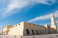 Moschea della condizione del Qatar Fotografia Stock Libera da Diritti