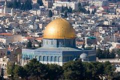 Moschea della roccia immagini stock libere da diritti