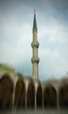 Moschea di Ahmed del sultano (la moschea blu) in Turchia Fotografia Stock Libera da Diritti