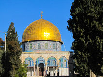 Moschea di Al-Aqsa Immagini Stock Libere da Diritti