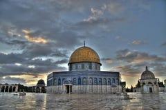 Moschea di Al-Aqsa Fotografie Stock Libere da Diritti
