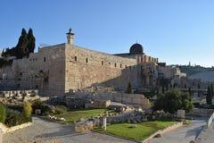 Moschea di Al-Aqsa fotografia stock