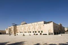 Moschea di Al-Aqsa a Gerusalemme Fotografie Stock