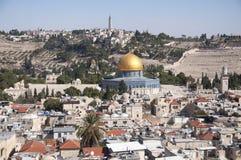 Moschea di Al-Aqsa, vecchia città Gerusalemme fotografia stock libera da diritti