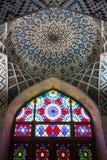 Moschea di Al-Mulk di Nasir Immagine Stock Libera da Diritti