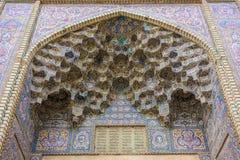 Moschea di Al-Mulk di Nasir Fotografia Stock